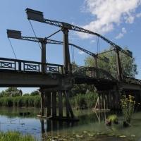 """manufatti-Musile7_Michele-Zanetti_Caposile-Ponte-a-bilanciere-1927The-old-bridge-""""a-bilancere""""-1927"""