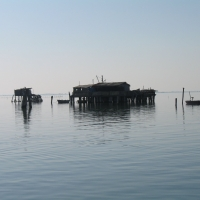 Fishing cabin in Pellestrina