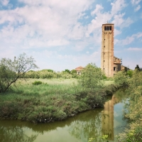 Bell tower of Santa Maria Assunta on Torcello island